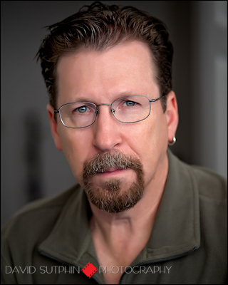 Natural light portrait - headshot photographer David Sutphin.