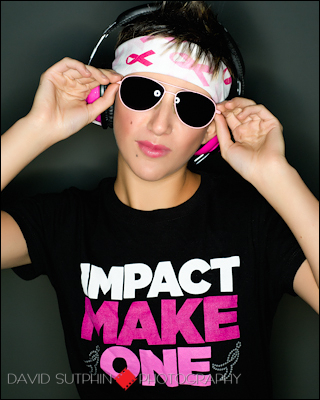 Photo from breast cancer awareness project.