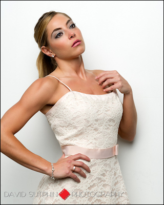 Comp card photo for model Ashley.