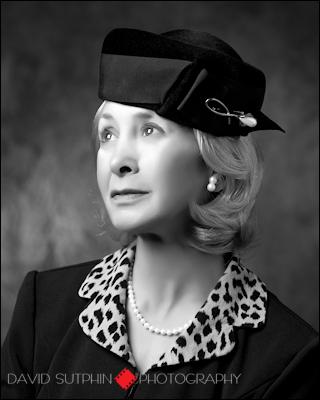 Judy Winnick's portrayal of Irena Sendler circa 1950.