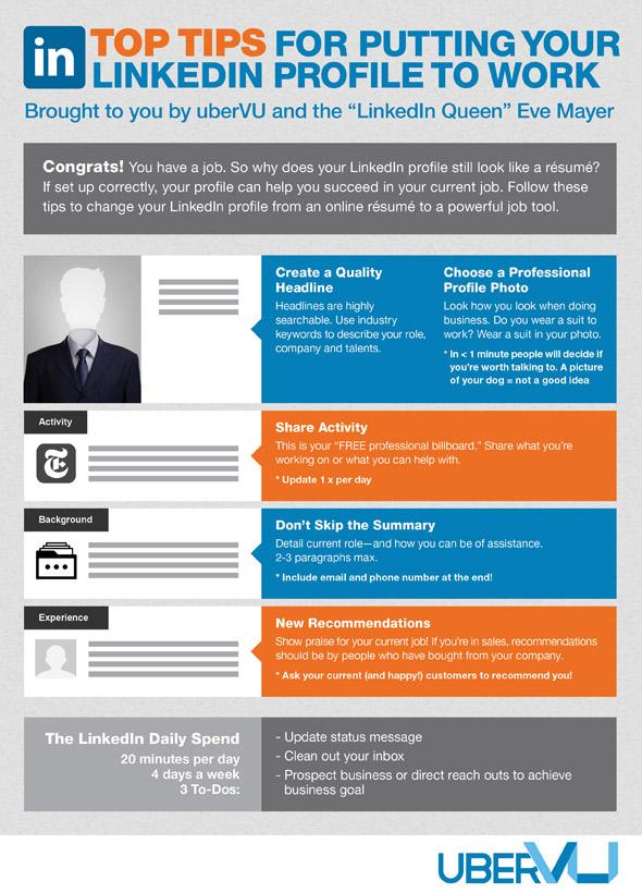 your headshot put your linkedin profile to work